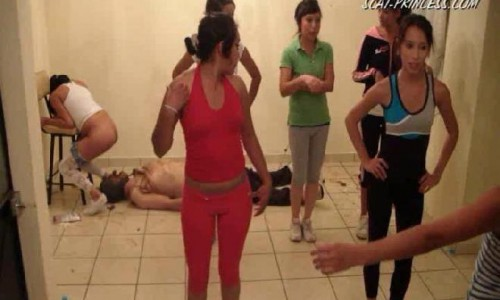 Dom-princess - Scat-princess - Toilet Slaves Aerobic Lessons Part 6 Dom-princess