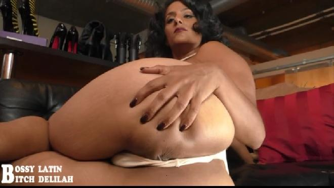 Hes Sucker For Doggie Style Farts Bossy Latin Bitch Delilah