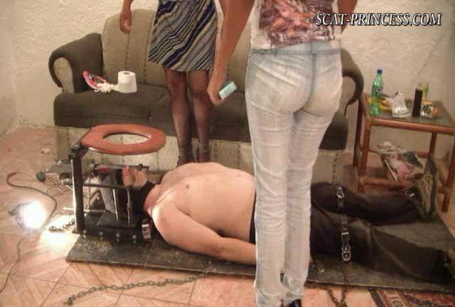 Dom-princess - Scat-princess - Using Toiletslave Is Good, Forced Consumtion Is Better Resound Subt Dom-princess