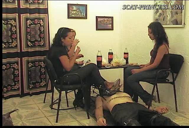 Dom-princess - Scat-princess - Lunch Over Human Toilet Part 1 Dom-princess